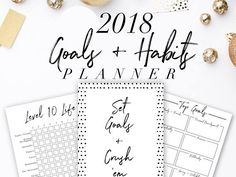 Create goals and then CRUSH THEM! Change your bad habits! Live a better lifestyle! Upgrade your life! Treat this business like a business and it will pay like a business. Treat your business like a hobby and it will pay like a hobby. With this planner your life will be leveled up. This is a high quality printable PDF 90 page instant download so you can start planning your business right now! #ad #goalsetting #goalplanner