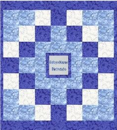 baby quilt designs | Personalized baby quilt design 4, personalized handmade baby quilts ...