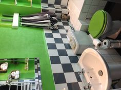 My compact bathroom