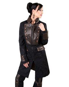 Aderlass Ladys Corsair Coat Brocade