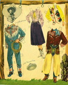 Roy Rogers and Dale Evans 1960 Whitman #1186 - Bobe Green - Picasa Webalbum