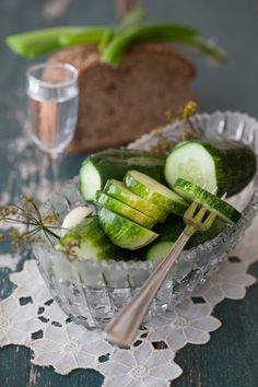 Russian Monday: Salted Cucumbers #Russian_recipes #Russian_food