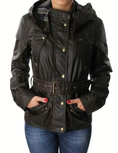 Belstaff Olive Hooded Trackmaster Icon Jacket | Accent Clothing