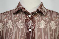 Miu Miu Plum Sheer Silk Extra Small Top