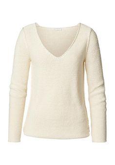 Mode mit Verantwortung für Mensch und Natur! / Pullover aus reiner Bio-Baumwolle #hessnatur #naturmode #bio #eco
