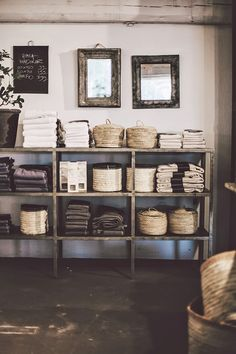 Love the storage... The organisation. And so rustic...