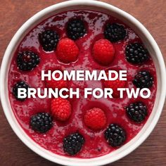 Homemade Brunch For Two