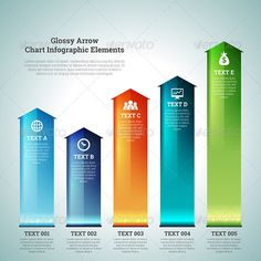 Glossy Arrow Chart Infographic Elements Tempalte #design Download: http://graphicriver.net/item/glossy-arrow-chart-infographic-elements/7369724?ref=ksioks
