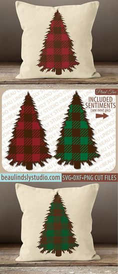 Plaid Christmas Tree SVG, Christmas SVG, Christmas Clip Art, Holiday SVG File For Silhouette Pattern, SVG File For Cricut Project, Christmas Tree Clip Art DXF File, PNG Image File BE SURE TO SEE OUR OTHER CHRISTMAS AND HOLIDAY DESIGNS: