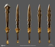 Assassin's Creed Origins: Curse of the Pharaoh 2 by satanasov Fantasy Sword, Fantasy Armor, Fantasy Weapons, Egyptian Weapons, Medieval Weapons, Anime Egyptian, Bastard Sword, Assassins Creed Origins, Armadura Medieval