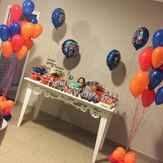 Balões de gás hélio para a festa das Chiquititas da linda Olívia, filha da @jutantas! Obrigada pela confiança, Ju!