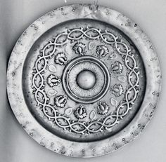 Plate Date: late 15th century Culture: German Medium: Brass Dimensions: Overall: 15 1/2 x 2 1/8 in. (39.4 x 5.4 cm)