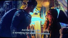Raphael and April talking in a deleted scene (behind the scenes of Michael Bay's Teenage Mutant Ninja Turtles) #raphril #shipping