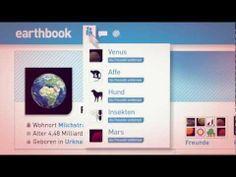 """#Earthbook: Die Erde geht online #facebook -   Was würde wohl die Erde auf ihrem Profil über uns Menschen posten, wenn sie könnte? Das Earthbook zeigt im Zeitraffer, wie die Erde eine virtuelle Beziehung zum Menschen aufbaut - und wirft bald die Frage auf, ob sie überhaupt mit einer Spezies """"befreundet"""" sein will, die ihre natürlichen Ressourcen ausbeutet.     www.zukunftsprojekt-erde.de"""