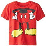 Disney Little Boys' Mickey Mouse Headless, Red, 4T   Short-sleeve tee featuring Mickey Mouse graphic and crew neckline  Officially licensed toddler boys short-sleeve Mickey Mouse tee  List Price: $  19.99 Price: $ 9.51  Your browser does not support iframes. More Disney T Shirts Products
