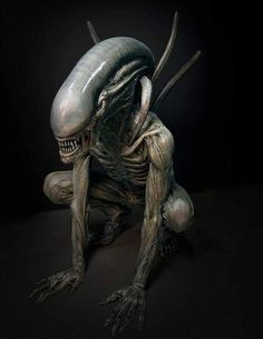 (The Night) Settara - Shadow Demon Arte Alien, Alien Art, Alien Vs Predator, Science Fiction, Arte Horror, Horror Art, Alien Film, Hr Giger Art, Saga Art