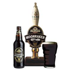 Cerveja Moonracker, estilo Specialty Beer, produzida por J.W. Lees & Co, Inglaterra. 7.5% ABV de álcool.