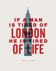 Inspirational Quote Samuel Johnson If a Man is by TheMotivatedType