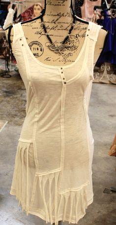 Off white knot dress $30.95