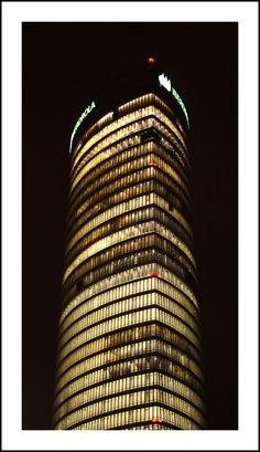 Torre Iberdrola (desde plaza del Museo)