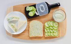Lemon Aioli Cucumber Tea Sandwiches #appy #snack Yummy Eats, Yummy Food, Clean Recipes, Healthy Recipes, Cucumber Tea Sandwiches, Epicure Recipes, Smoothie Drinks, Smoothies, Vegetarische Rezepte