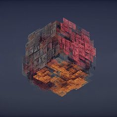 Cube thing #3d #render #digital #art #graphic #design #everyday #daily #abstract #gfx #thegraphicspr0ject #concept #illustration #cinema4d #c4d #arnoldrender #creative