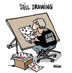 Charlie Hebdo attack BY FREDERICK DELIGNE, NICE-MATIN, FRANCE - 1/7/2015 - §
