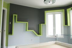 La chambre verte!  DecoStyle design réalisation