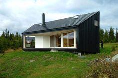 Black Cabin in Nordmarka, Norway by Jarmund/Vigsnæs AS Architects MNAL.