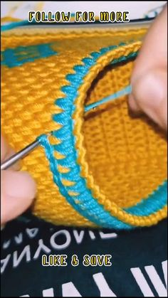 Crochet Bag Tutorials, Crochet Stitches For Beginners, Crochet Flower Tutorial, Crochet Instructions, Crochet Stitches Patterns, Crochet Videos, Crochet Designs, Crochet Projects, Knitting Patterns