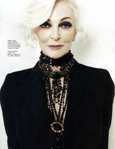 #Carmen DellOrefice #supermodel #elegant #ageless #classic #beautiful #fashion #beauty #carmen #sophisticated #elegance #glam