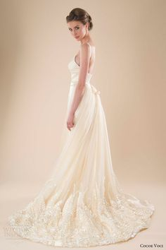 awesomeweddingdresses:  http://www.weddinginspirasi.com/2013/11/01/cocoe-voci-spring-2014-wedding-dresses/2/