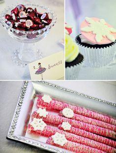 Sugar Plum Fairy Nutcracker Dessert Table // Hostess with the Mostess®