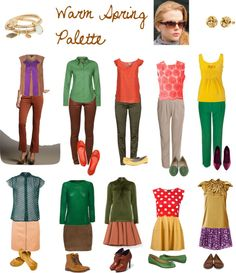 """Warm Spring Palette"" by expressingyourtruth on Polyvore"
