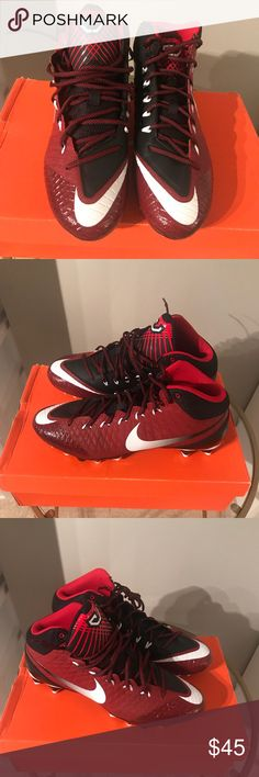 0c36c771c165ec Shop Men s Nike Red Black size Various Sneakers at a discounted price at  Poshmark.