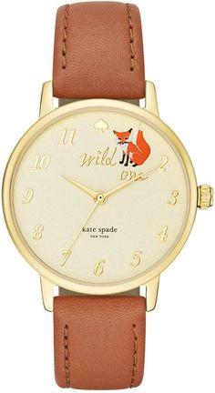 kate spade fox wild one watch = love