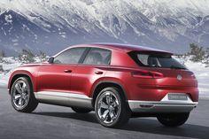X6-killer van Volkswagen: Touareg CC 2015