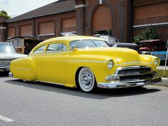 1951 Chevy Fleetline. and they call me mellow yellow
