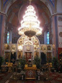 Wnętrze cerkwi w Gródku