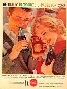 Sandra Dee, Coca Cola ad