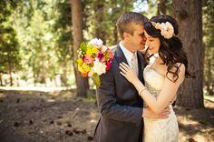 omg. woodland weddings.