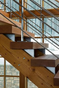 Stair III - modern - staircase - other metros - Acanthus Architecture, PA