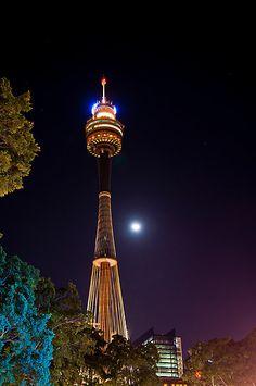 Center point tower,Sydney Australia. By David Geoffrey Gosling (Dave Gosling)