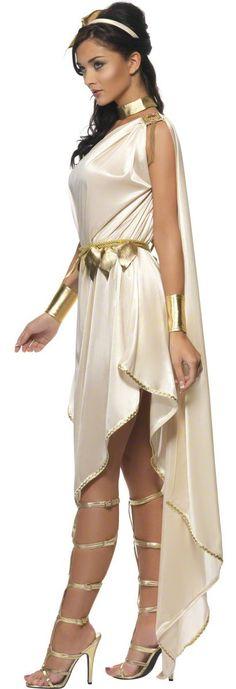 Sexy Womens Roman Goddess Costume Goddess Costumes - Mr. Costumes