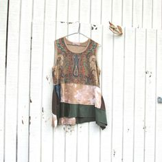 Hey, I found this really awesome Etsy listing at https://www.etsy.com/listing/191175925/funky-summer-tunic-upcycled-clothing
