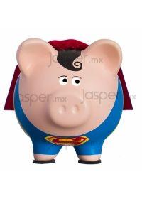 Alcancía cerdito de cerámica - Superman
