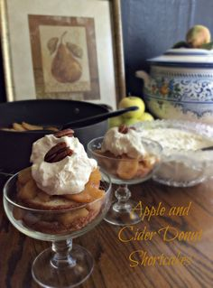 Cooking On A Budget: Apple and Cider Donut Shortcakes