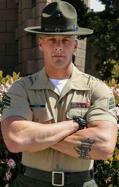 The Three Hottest Men: Cops, Firemen, And Military Hot Cops, Cop Uniform, Men In Uniform, Sexy Military Men, Hot Army Men, Hot Men, Muscular Men, Attractive Men, Good Looking Men