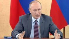 Владимир Путин объяснил в Крыму, что нужно делать с выделенными деньгами (видео)