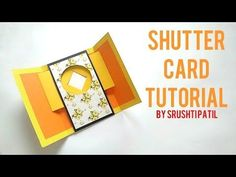 Shutter Card Tutorial By Srushti Patil - YouTube